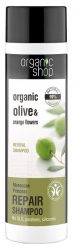 Organic Shop Regeneráló sampon bio olivaolajjal és narancsvirággal 280 ml