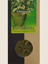 Sonnentor Bio fűszerek, bazsalikom 15 g