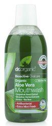 Dr. Organic Bio Aloe Vera szájvíz 500 ml -- NetbioHónap 2019.02.26-ig 10% kedvezménnyel