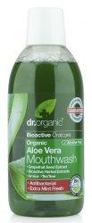 Dr. Organic Bio Aloe Vera szájvíz 500 ml -- készlet erejéig, a terméklejárati ideje: felbontás után 12 hónappal
