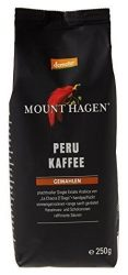 Mount Hagen Bio-Demeter Kávé, őrölt, pörkölt, 100% Peru, Demeter 250 g