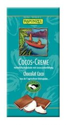 Rapunzel Bio csokoládé, svájci kókuszos krémcsokoládé 38%-os 100 g