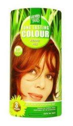 HennaPlus női tartós hajfesték, vörös árnyalat, hennavörös (5.64) (Long Lasting Colour, Henna Red)