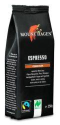 Mount Hagen Bio Espresso kávé, őrölt - Fairtrade 250g