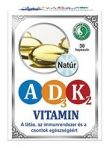 Dr. Chen A-D3-K2 Vitamin Kapszula 30 db