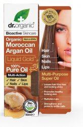 Dr. Organic Bio Argán olaj, 100% marokkói argán olaj 50 ml
