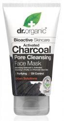 Dr. Organic Bio Pórustisztító arcpakolás aktív szénnel 125 ml