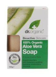 Dr. Organic Bio Aloe Vera szappan 100 g -- NetbioHónap 2018.08.29-ig 10% kedvezménnyel