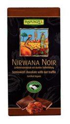 Rapunzel Bio csokoládé, Nirwana Noir keserűcsokoládé sötét trüffeltöltelékkel 100 g