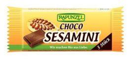Rapunzel Bio apró édesség, szezámszelet, csokoládés 27 g