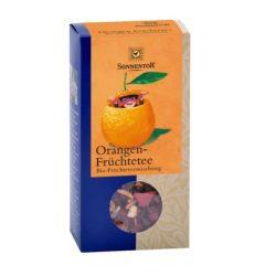 Sonnentor Bio Tea, gyümölcs, Narancsos, ömlesztett, dobozos 100 g