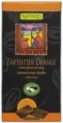 Rapunzel Bio csokoládé, svájci félédes narancsos csokoládé 55%-os 80 g