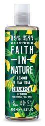 Faith In Nature Sampon Citrom és Teafa 400 ml -- NetbioHónap 2020.01.28-ig 19% kedvezménnyel