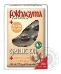 Dr. Chen Fokhagyma Kapszula+c Vitamin 100 db