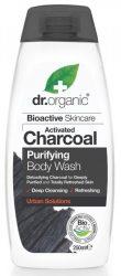 Dr. Organic Bio Mélytisztító tusfürdő aktív szénnel 250 ml