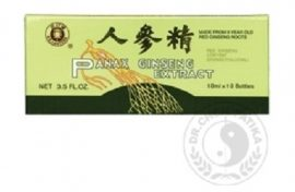 Dr. Chen Ginseng Panax Extractum Ampulla 10x10 ml