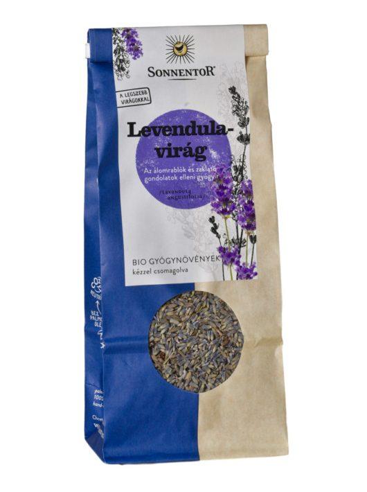 Sonnentor Bio Levendulavirág tea - ömlesztett 70 g -- készlet erejéig, a termék lejárati ideje: 2022.03.31.