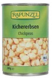 Rapunzel Bio konzerv, Csicseriborsó sós lében 400 g