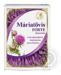 Dr. Chen Máriatövis Forte Kapszula 60 db -- készlet erejéig, a termék lejárati ideje: 2022.03.20.