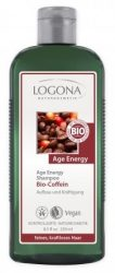 Logona Age Energy Energetizáló sampon koffeinnel és Goji bogyóval 250 ml