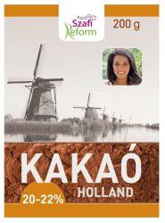 Szafi Fitt Holland Kakaópor 20-22% 200 g