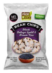 Rice Up Rizs Chips Beluga Lencsével 60 g
