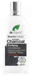 Dr. Organic Bio Mélytisztító kondicionáló aktív szénnel 265 ml