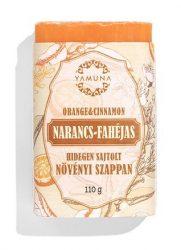 Yamuna Növényi Szappan Narancs-Fahéj 110 g