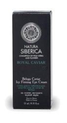 Natura Siberica Royal Caviar, Beluga Caviar Feszesítő szemránckrém - Érett bőrre 15 ml