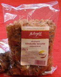 Naturgold Ökológiai tönköly tészta, teljesőrlésű fodros nagy kocka, barna 250 g