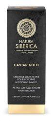 Natura Siberica Caviar Gold Fiatalító nappali arckrém - Érett bőrre 30 ml -- NetbioHónap 2019.10.28-ig 50% kedvezménnyel