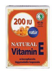 Dr. Chen Natural Vitamin E 200 60 db