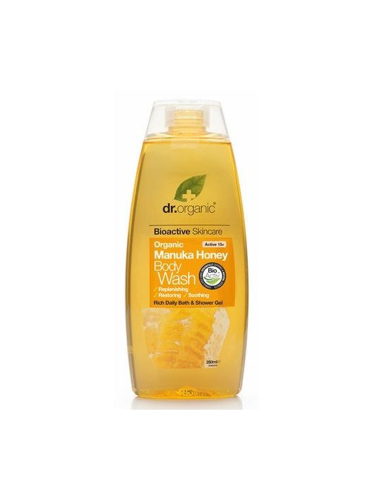 Dr. Organic Bio Manuka mézes tusfürdő 250 ml