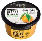 Organic Shop Bőrradír bio naranccsal és cukorral 250 ml -- NetbioHónap 2019.05.29-ig 10% kedvezménnyel