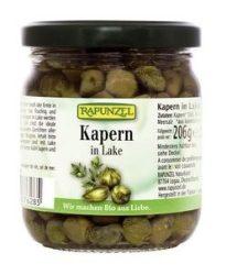 Rapunzel Bio előételek, kapribogyó fehérborecetes lében 206 g