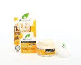 Dr. Organic Méhpempő Éjszakai krém Bio méhpempővel 50 ml