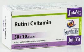 Jutavit Rutin+c-Vitamin Tabletta 50+10 db