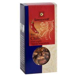Sonnentor Bio fűszerek, Chili extra csípős - egész 25 g