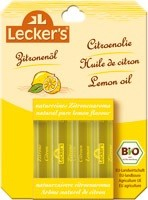 Lecker's Bio 100%-os citromolaj sütéshez-főzéshez 4*2 ml