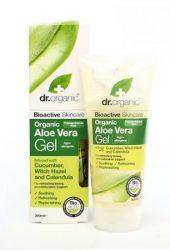 Dr. Organic Bio Aloe Vera gél varázsmogyoróval 200 ml -- NetbioHónap 2019.07.28-ig 10% kedvezménnyel