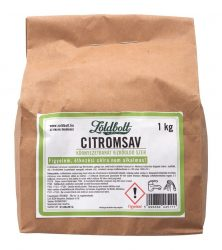 Zöldbolt citromsav (étkezési célra nem alkalmas) 1 kg