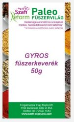Szafi Fitt Fűszer Gyros 50 g