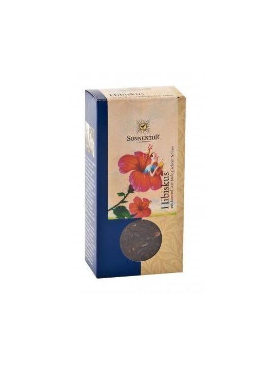Sonnentor Bio gyógynövényteák, hibiszkusz, dobozban 80 g