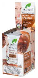 Dr. Organic Bioaktív csigagél hidratáló arcpakolás intenzív öregedésgátló hatással 10 ml