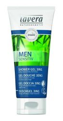 lavera Men Sensitive tusfürdő 3in1 (test, haj, arc) 200 ml