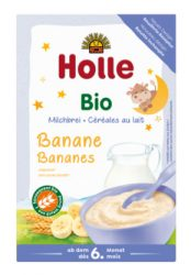 Holle Bio tejkásák, banános tejpép (tejkása) 250 g