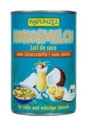 Rapunzel Bio alapanyagok sütéshez, kókusztej 400 ml