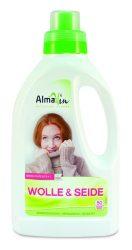 Almawin Öko gyapjúmosószer, 50 mosásra elegendő 750 ml -- készlet erejéig