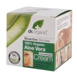 Dr. Organic Bio Aloe Vera krémkoncentrátum 50 ml -- NetbioHónap 2018.08.29-ig 10% kedvezménnyel