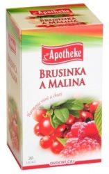 Apotheke Tőzegáfonya-Málna Tea 20x2g